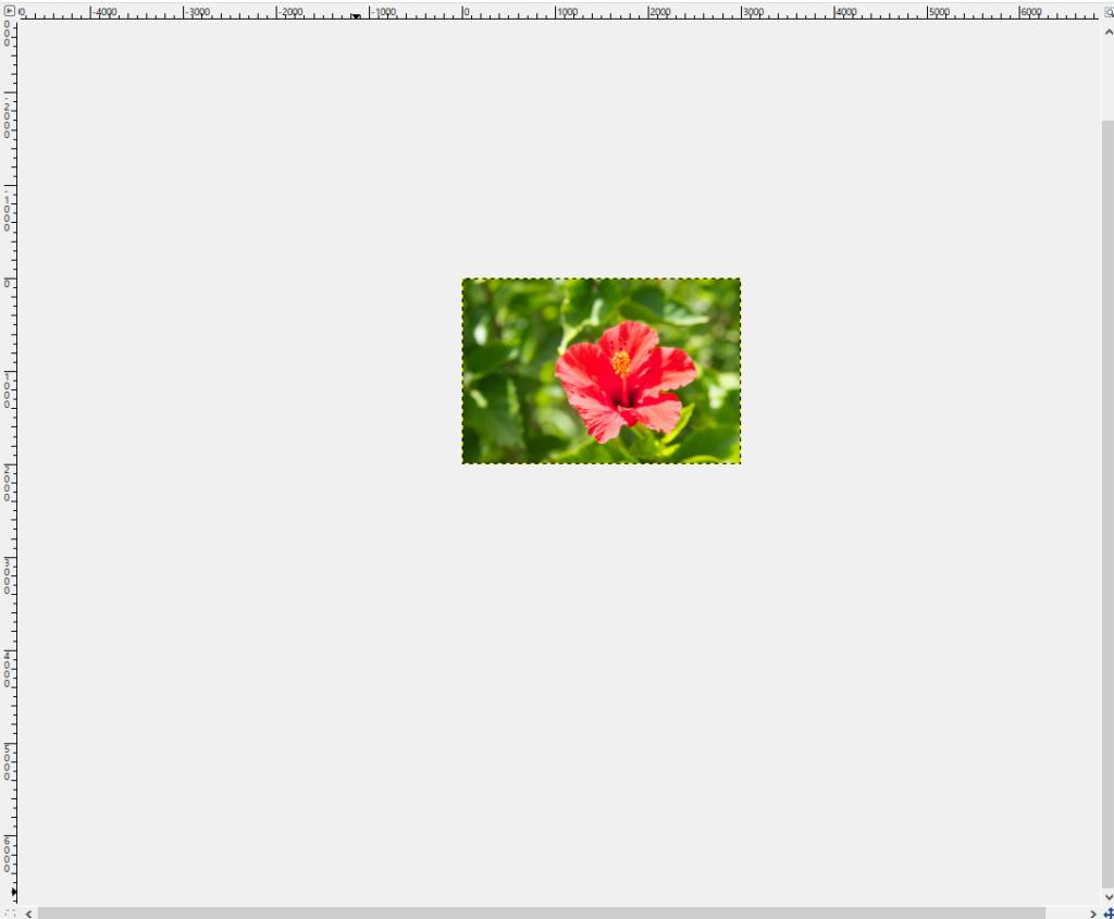 GIMPの画像の拡大と縮小